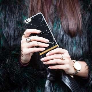 CC Collection 代購 Richmond & Finch iPhone 6/6P 7/7P 黑色大理石紋手機殼