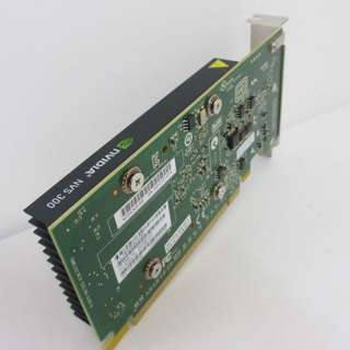 Quadro NVS 300 512MB DDR3 Low Profile Workstation Video Card