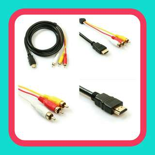 Adroit 5ft/1.5m HDMI to 3RCA Extension Signal Cable Converter Adapter for HDTV DVD  Pm : 92325050