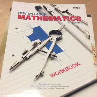 Secondary 1 Shinglee Workbook
