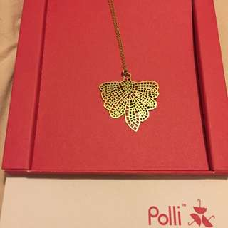 Polli Butterfly Gold Necklace