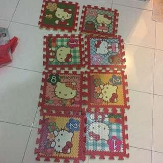 Hello Kitty Playmat Mat 16pcs