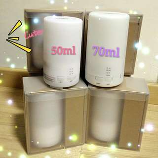 [Back by Popular Demand!] 50ml MUJI-liked USB mini Humidifier (Get Discount with Young Living (YL) Essential Oil purchased)
