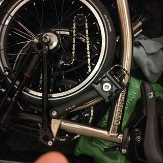 Brand New Brompton Nickel Limited Edition