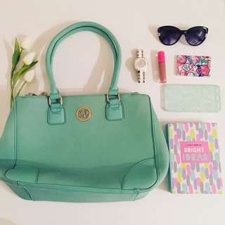 Mint Green Kate Hill Tote