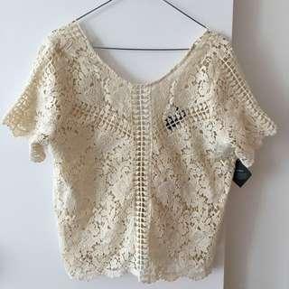 Nasty Gal Crochet Top