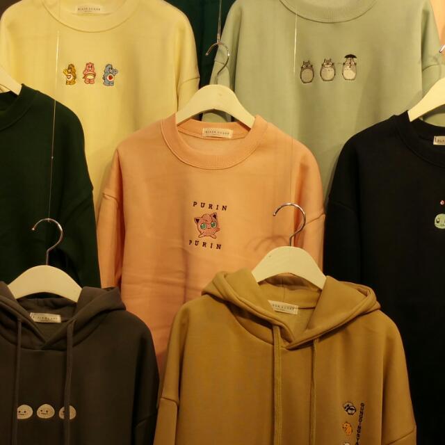 韓國進口刷毛圓領衫