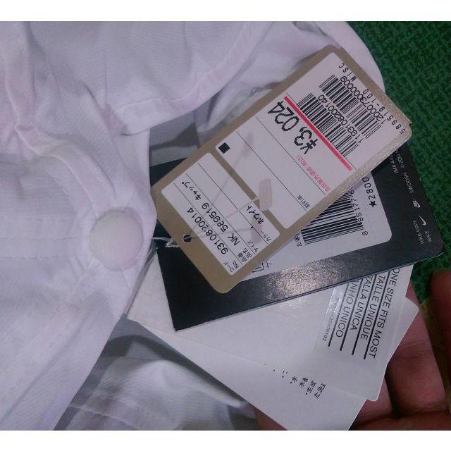 日本 Nike Dri-Fit Heritage Twill 589519  棒球帽 白色軟老帽  可調  魔鬼沾式