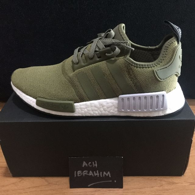 fd1b4f6bb Adidas NMD R1 Olive Cargo Green FL EU Exclusive UK8.5