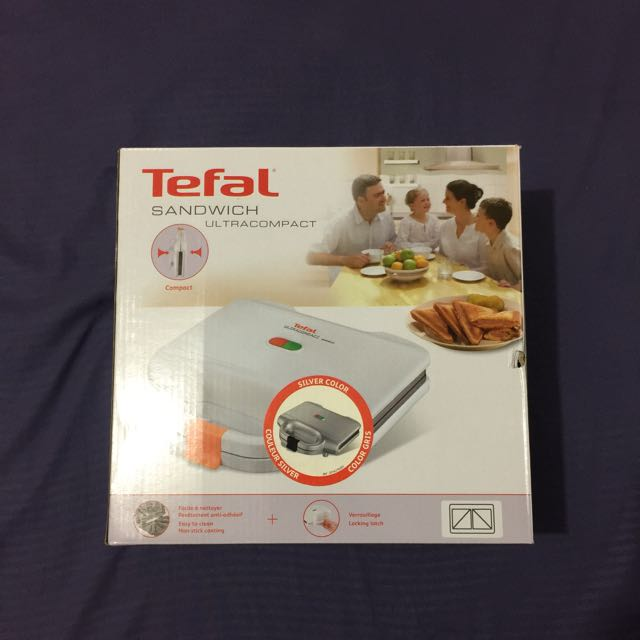 **MOVING OUT SALE - $18** Tefal Ultracompact Sandwich Maker