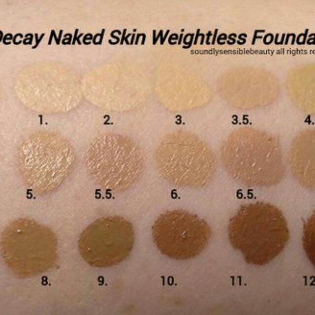 Authentic Urban Decay Naked All Nighter Foundation