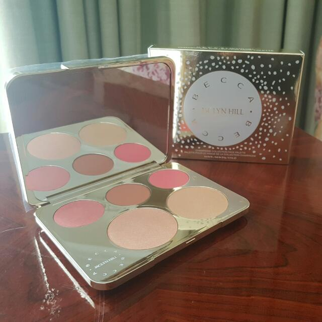 Becca X Jaclyn Hill Champagne Collection Face Palette (Authentic)