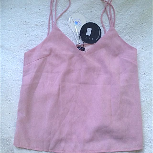 Beginning Boutique Pink Top Size 10