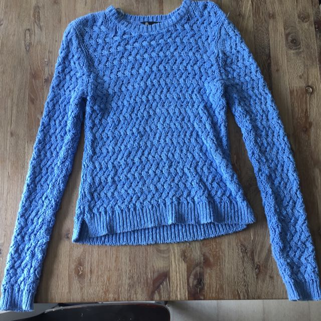 Blue Knit Jumper- Jay Jays