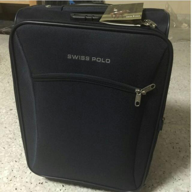 cbe298d4606d Blue Swiss Polo Travel Cabin Luggage (Brand New)