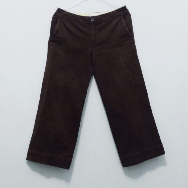 Brown Cullote / Kulot