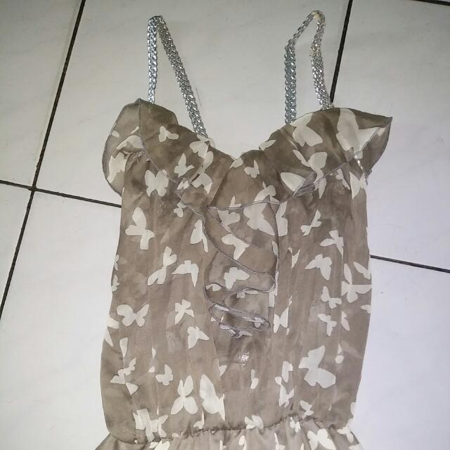 Butterfly Mini Dress