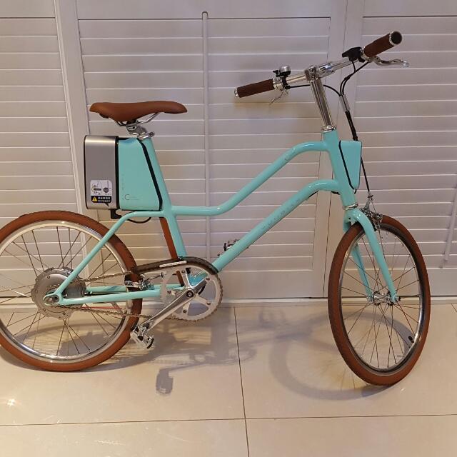 雲馬C1電動單車