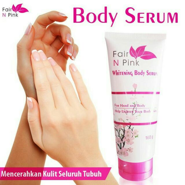 Fair N Pink Bodyserum 160ml Original