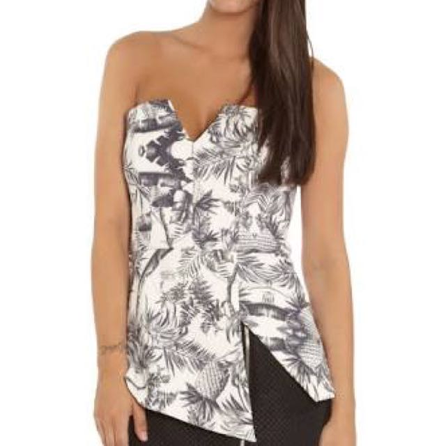 Finders Keepers - Jump Then Fall Bustier