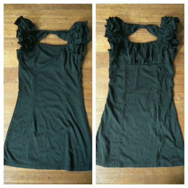 #freeshipping: mini black dress