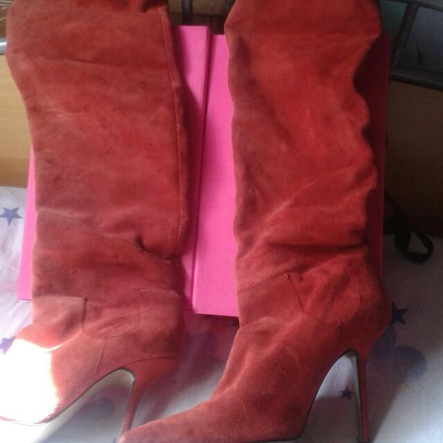 Givenxhy Red Boots