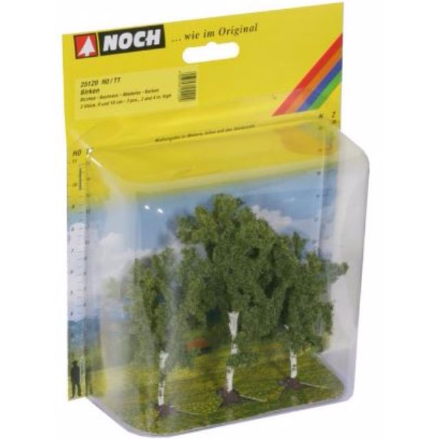 """[H0 1/87] Model Trees """"Birches"""", set of 3 with different shapes [Noch] NEW"""