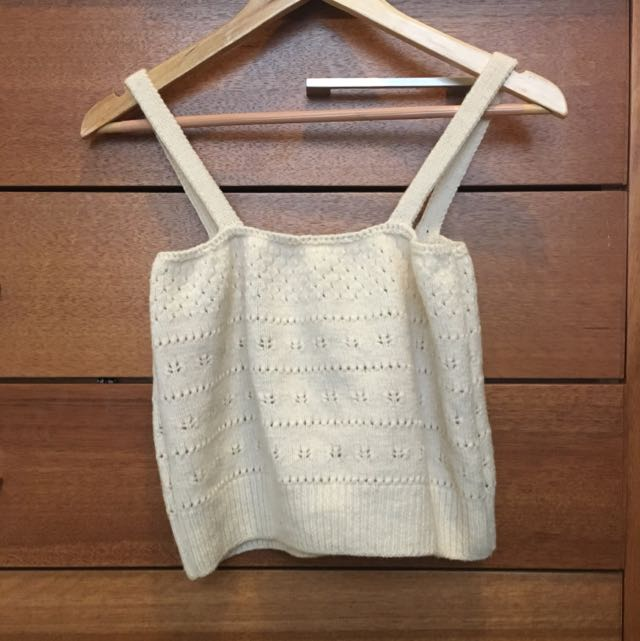 Handmade Knit Crop