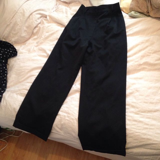 High Waisted Trousers