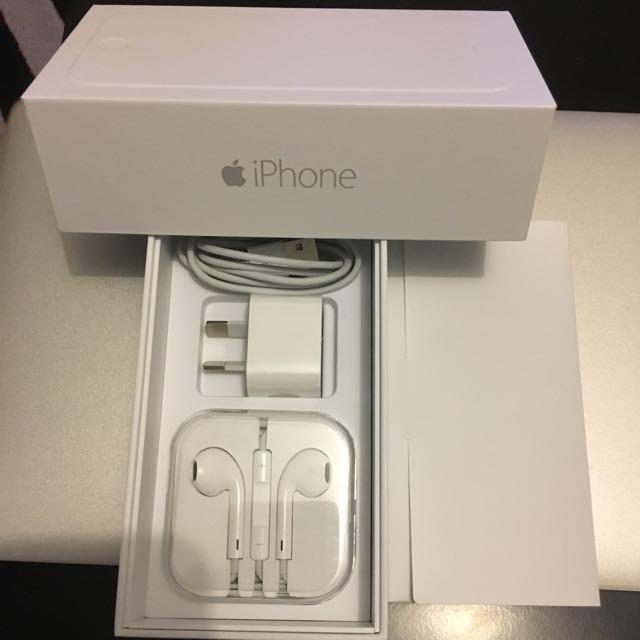 iPhone 6 - 16GB Silver (free Film protector)