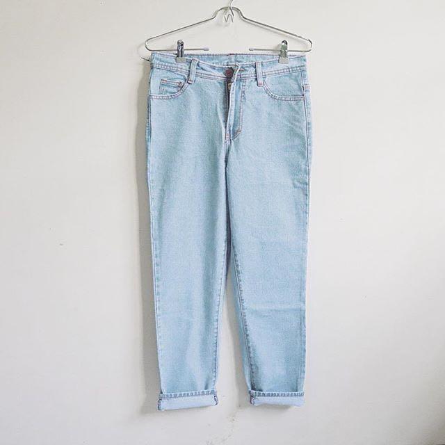 Jeans HW 7/8 Light Blue