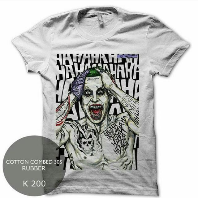 Kaos Joker , Harley Quinn Suicide Squad