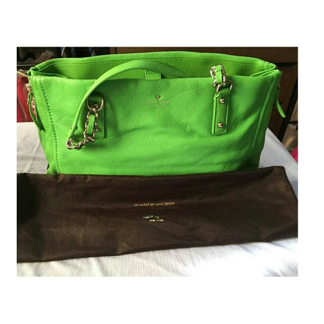 Kate Spade Green Shoulder Bag