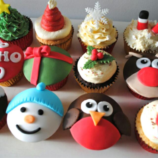 Ladies Women Girl Birthday Christmas Cupcakes Cake Cupcake Santa Womens Fashion Bags Wallets On Carousell