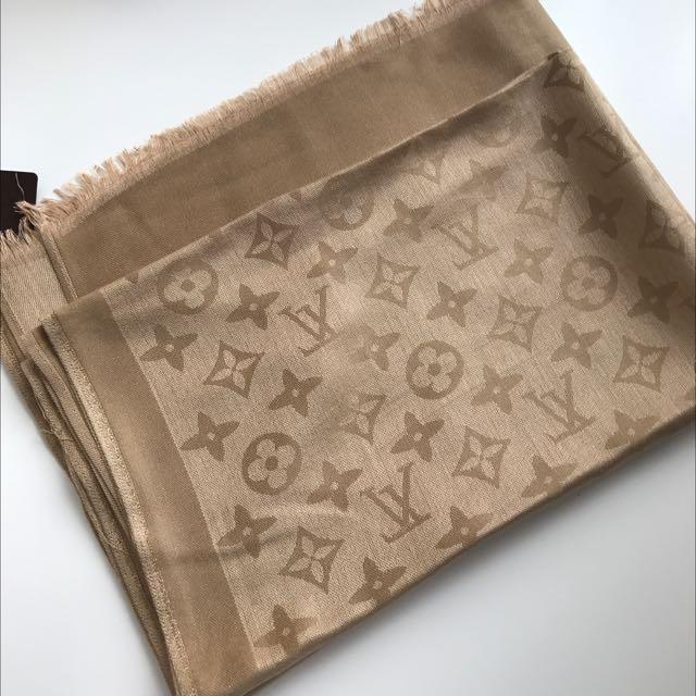 Louis Vuitton Scarf - Bronze