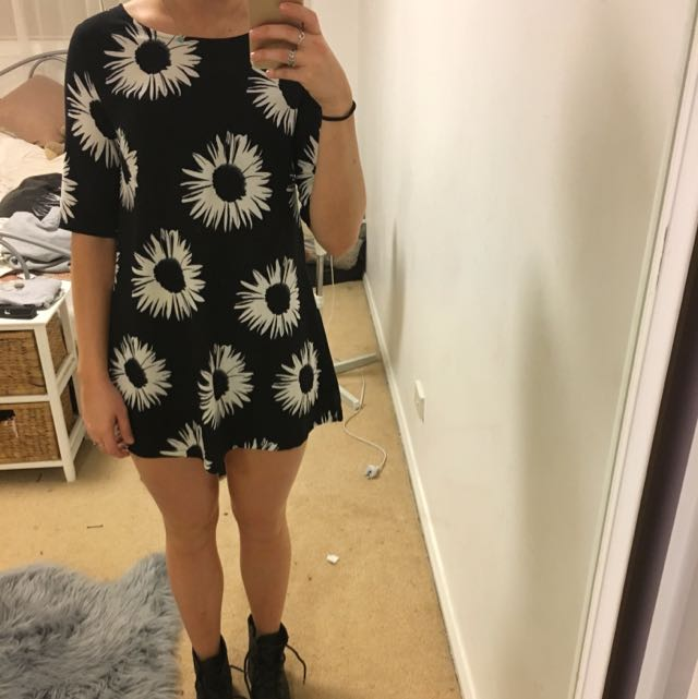 MissGuided Floral Long Top/dress