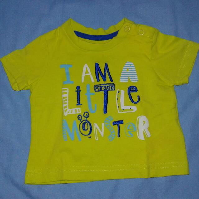 Mothercare Lil' Monster T-shirt