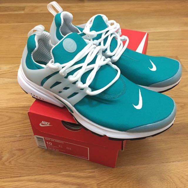 Nike Air Presto Rio Teal Size 10, Men's