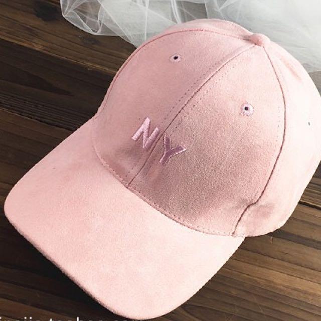 NY Cap In Baby Pink 05e842b0f29