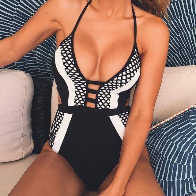 One Piece Swimsuit Full Piece Swimmers