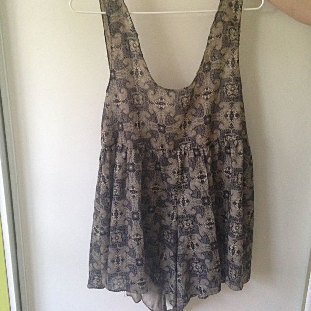 One Teaspoon Romper/Playsuit Size Small