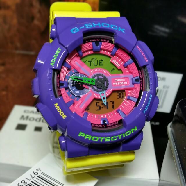 Original G-Shock GA-110HC FruitSalad Mens Womens Watch Hshock