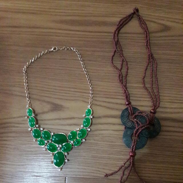(PRELOVED) 2 in 1 Kalung