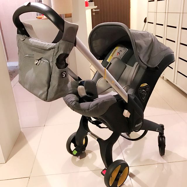 Preloved Doona Stroller Car Seat With Isofix