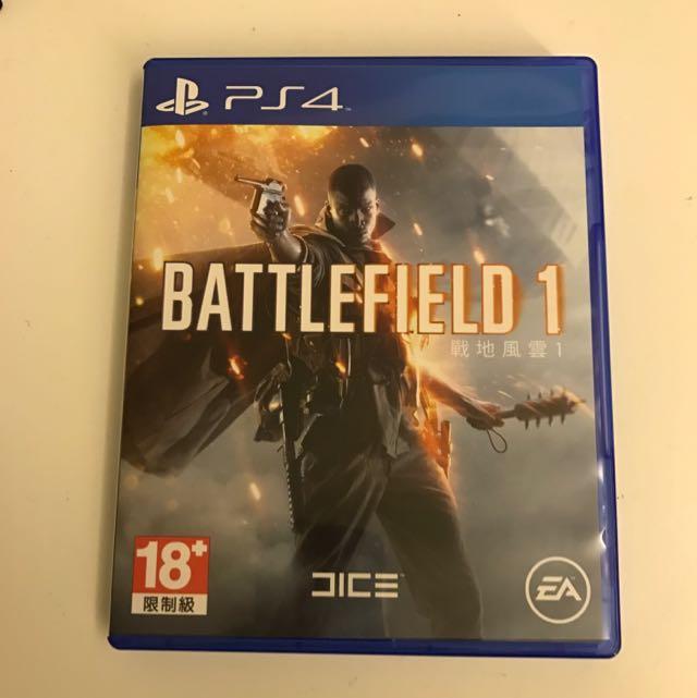 PS4 BATTLEFLELD 1