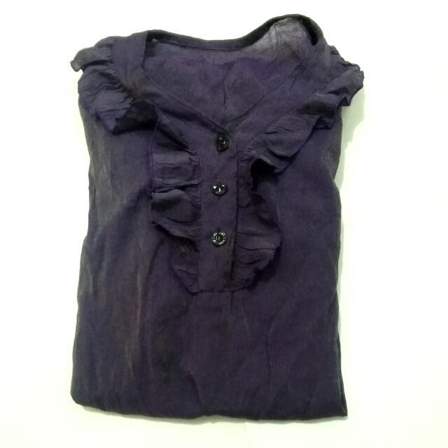 Purple Blouse (nobrand)