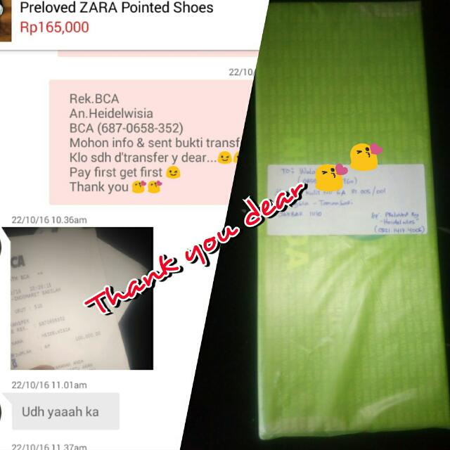 Real Transaction,Thank You Dear 😘😘