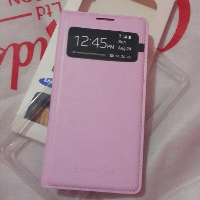 Samsung Galaxy S4 Pink Cover Case