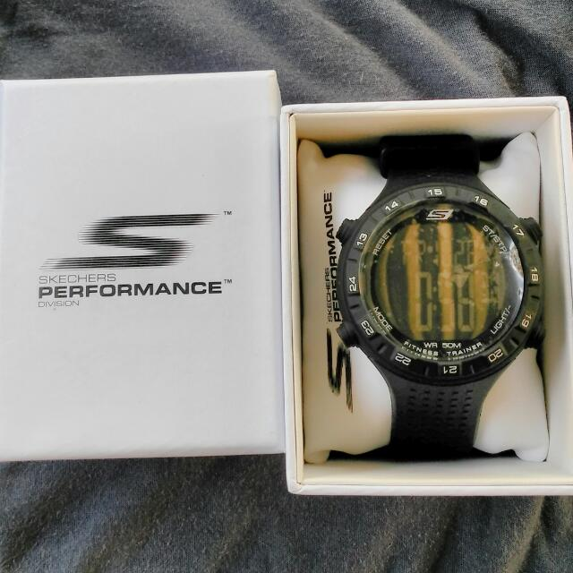skechers authentic watch