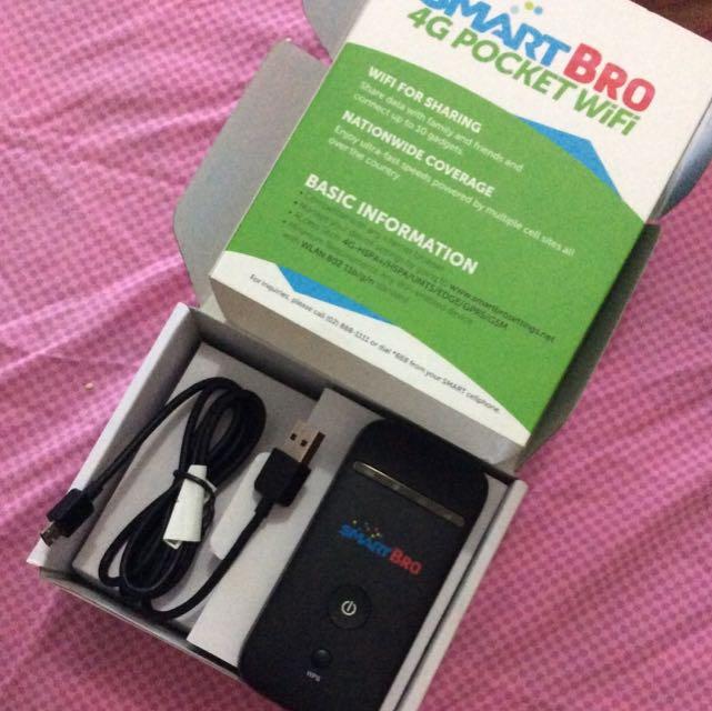 SmartBro 4g Pocket wifi